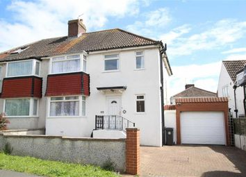 Thumbnail 3 bed semi-detached house for sale in Elberton Road, Sea Mills, Bristol