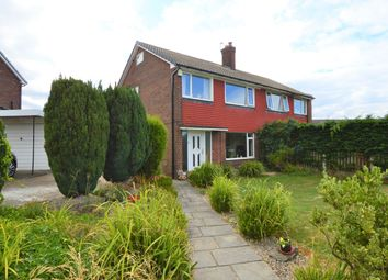 Thumbnail 3 bed semi-detached house to rent in Grange Avenue, Garforth, Leeds