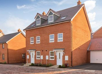 """Thumbnail 3 bed semi-detached house for sale in """"Norbury"""" at Tingewick Road, Buckingham"""