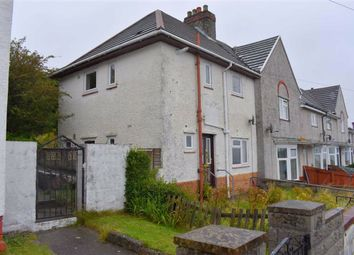 Thumbnail 3 bed end terrace house for sale in Dyfed Avenue, Swansea