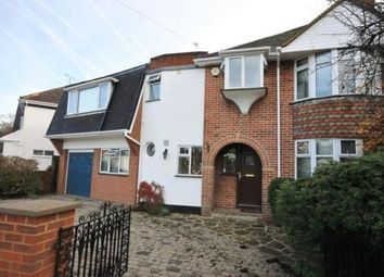 Thumbnail 6 bed semi-detached house to rent in The Crescent, Egham, Surrey