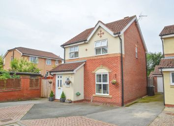 Thumbnail 3 bed detached house for sale in Winthropp Close, Malton