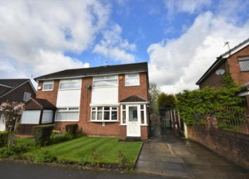 Thumbnail 3 bed semi-detached house for sale in The Fairway, Moston, Manchester