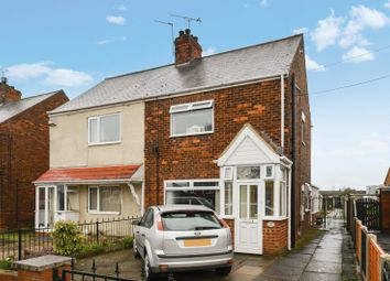 Thumbnail 3 bed semi-detached house for sale in 107 Grange Lane South, Scunthorpe