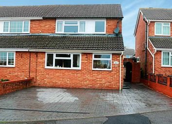 Thumbnail 3 bed semi-detached house to rent in Baird Avenue, Basingstoke
