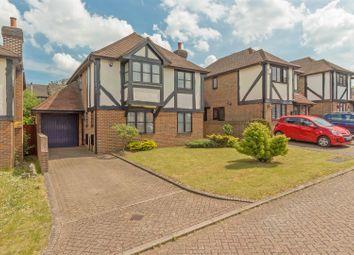 Thumbnail 4 bed detached house for sale in Wickham Close, Newington, Sittingbourne
