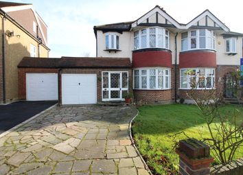 Thumbnail 3 bed semi-detached house to rent in Burnham Drive, Worcester Park, Surrey
