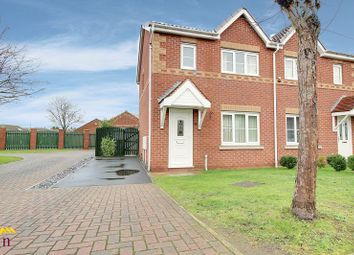 Thumbnail 3 bed semi-detached house to rent in Dunstan Walk, Thorne