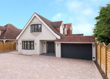 Thumbnail 4 bed detached house for sale in The Ridgeway, Northaw, Hertfordshire