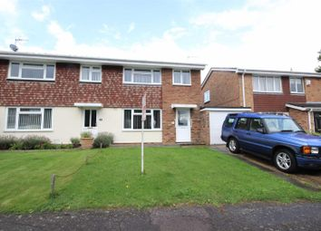 Thumbnail 3 bed semi-detached house for sale in Wellpond Close, Sharnbrook, Bedford