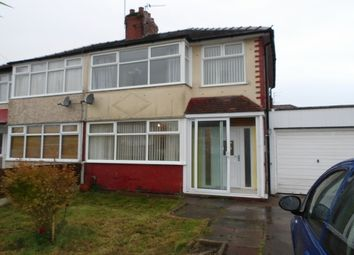 Thumbnail 3 bed property to rent in Cleveleys Road, Great Sankey, Warrington