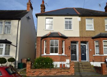 Thumbnail 3 bedroom semi-detached house for sale in Donnington Road, Worcester Park