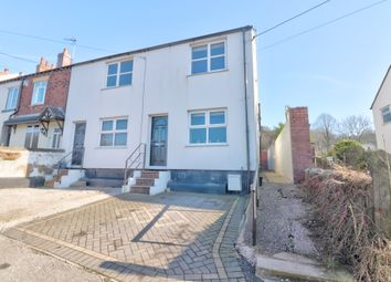Thumbnail 2 bed semi-detached house for sale in North Street, Mow Cop, Stoke-On-Trent