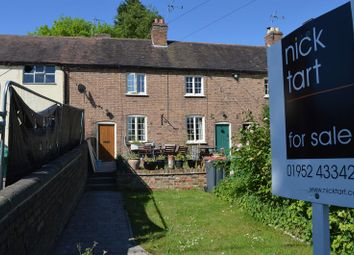 Thumbnail 2 bed terraced house for sale in Hodge Bower, Ironbridge, Telford, Shropshire.