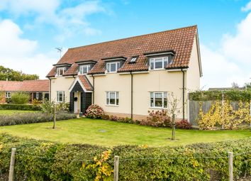 Thumbnail 4 bed detached house for sale in Cavell Close, Bawdsey, Woodbridge