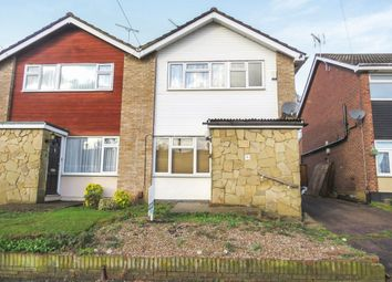 Thumbnail 3 bed semi-detached house for sale in Hoecroft, Nazeing, Waltham Abbey