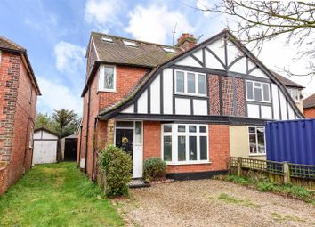 Thumbnail 5 bed semi-detached house for sale in Garden Road, Walton-On-Thames