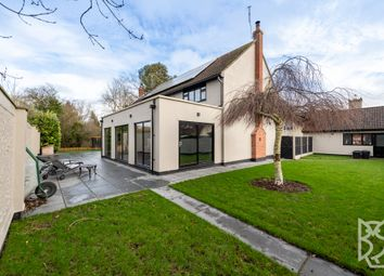 Thumbnail 4 bed detached house for sale in The Street, Pebmarsh, Colchester