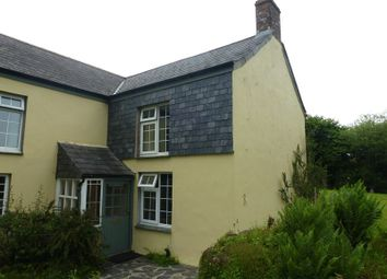 Thumbnail 1 bedroom semi-detached house to rent in St. Neot, Liskeard