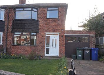 Thumbnail 3 bed semi-detached house for sale in Eden Grove Road, Doncaster