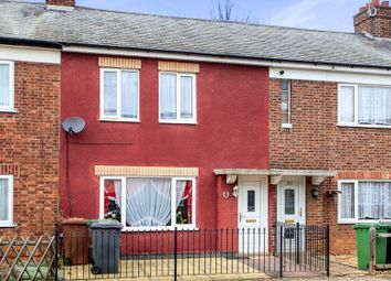 Thumbnail 2 bed terraced house for sale in Willesden Avenue, Walton, Peterborough
