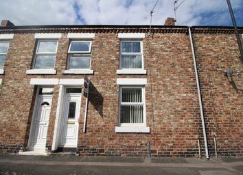 Thumbnail 2 bedroom terraced house for sale in Johnson Street, Lemington, Newcastle Upon Tyne