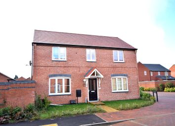 Thumbnail 4 bed detached house for sale in Prince George Avenue, Oakham