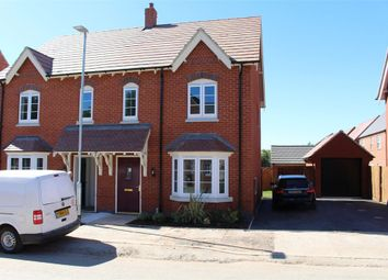 Thumbnail 3 bed semi-detached house to rent in Gloster Road, Lutterworth, Leicestershire