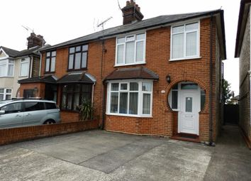 Thumbnail 3 bed semi-detached house for sale in St Leonards Road, Ipswich, Suffolk