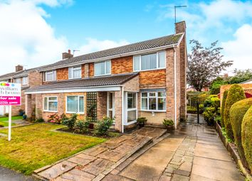 Thumbnail 3 bed semi-detached house for sale in Chevril Court, Wickersley, Rotherham