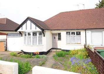 Thumbnail 3 bed semi-detached bungalow for sale in Waltham Way, London
