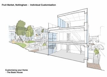 Thumbnail 3 bed town house for sale in Park View Court, Bath Street, Nottingham