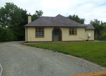 Thumbnail 2 bed detached bungalow to rent in Sunnyside, Cardington Road, Leebotwood, Church Stretton