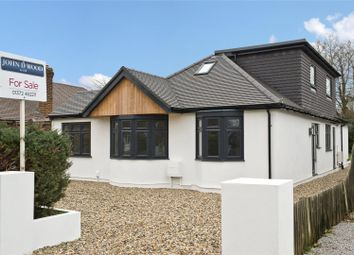 Thumbnail 5 bed detached bungalow for sale in The Woodlands, Esher, Surrey