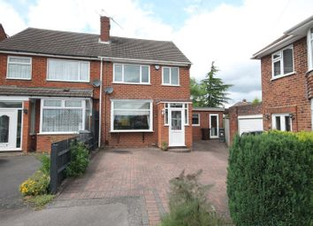 Thumbnail 4 bed semi-detached house for sale in Highcroft Close, Solihull