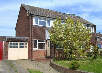 Thumbnail 3 bed semi-detached house for sale in Three Elm Lane, Golden Green, Tonbridge