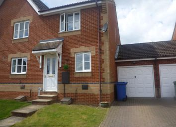 Thumbnail 2 bedroom semi-detached house to rent in Skipper Road, Pinewood, Ipswich