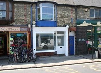 Thumbnail Retail premises to let in 184 Mill Road, Cambridge