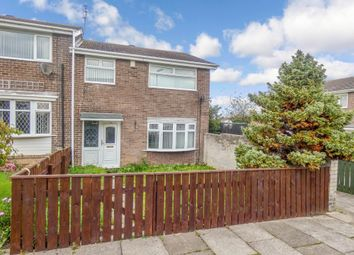 Thumbnail 3 bed semi-detached house for sale in Chesterhill, Cramlington