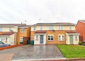 Thumbnail 4 bed semi-detached house for sale in Wedgewood Close, Coventry
