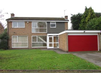 Thumbnail 4 bed detached house to rent in Radford Rise, Solihull