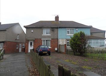 Thumbnail Semi-detached house to rent in South View, Cambois, Blyth