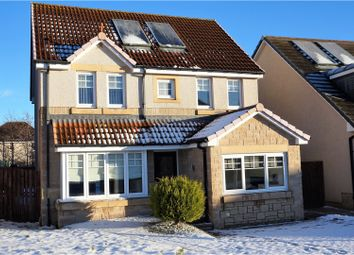 Thumbnail 5 bed detached house for sale in Burnland Crescent, Westhill