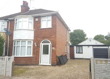 Thumbnail 3 bedroom semi-detached house to rent in Walcote Road, Rushey Mead, Leicester