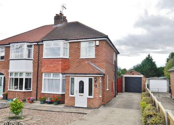 Thumbnail 3 bed semi-detached house for sale in Fordlands Road, Fulford, York