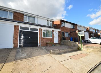 Thumbnail 4 bed semi-detached house for sale in Holcombe Crescent, Ipswich