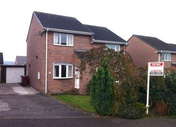 Thumbnail 2 bed semi-detached house to rent in Dale View Road, Pilsley