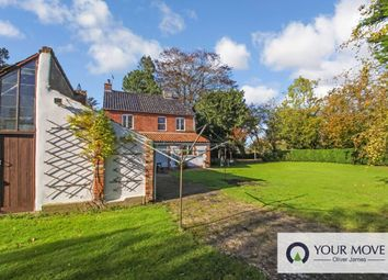 Thumbnail 4 bed detached house for sale in Marsh Lane, North Cove, Beccles