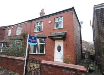 Thumbnail 3 bed semi-detached house for sale in St. Annes Drive, Denton, Manchester