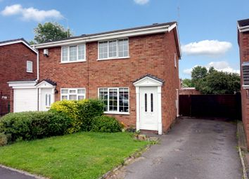 Thumbnail 2 bed semi-detached house for sale in Grayling, Tamworth